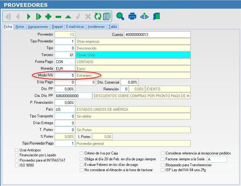 Como registrar una factura del exterior invoice en el for Que significa exterior